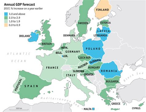 european union map top 30 maps and charts that explain the european union