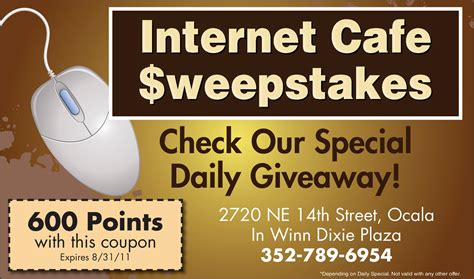 Sweepstakes Cafes - 352 cid autos post