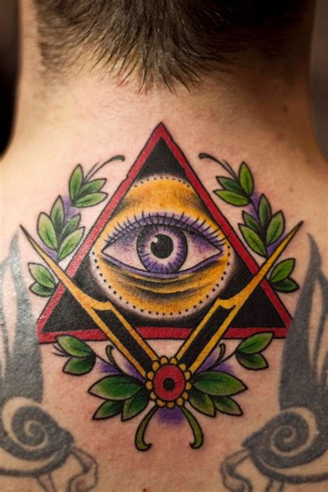 eyeball tattoo satanic illuminati tattoos designs ideas and meaning tattoos