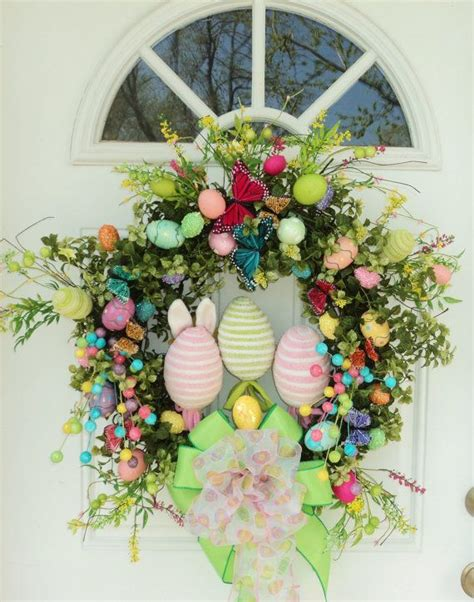 spring butterfly wreath artificialchristmaswreaths com 1000 images about easter eggs on pinterest crafts