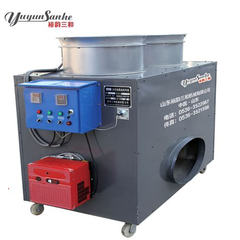 chauffage hangar huile gravure machine de chauffage pour les volailles