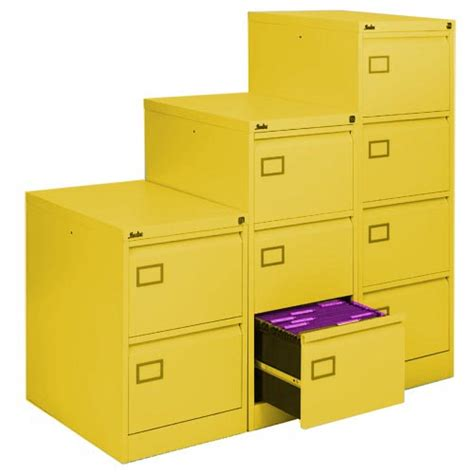 Yellow Filing Cabinet Uk 2 Drawer Yellow Executive Filing Cabinets