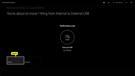windows 10 xbox app tutorial move or copy xbox one games and apps between storage