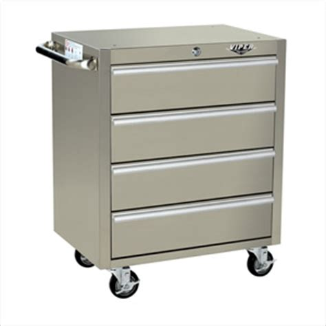 viper v2604ss stainless steel tool cabinet 4 drawer