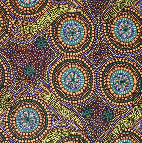 Patchwork And Quilting Fabric - patchwork quilting sewing fabric aboriginal winter spirits