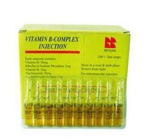 Vitamin B Complex Malaysia vitamin b complex for injection in yi yuan county