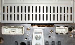 mazda 2000 2006 cd6 sat ready radio blem