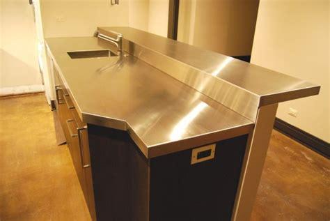 custom metal home stainless steel countertops