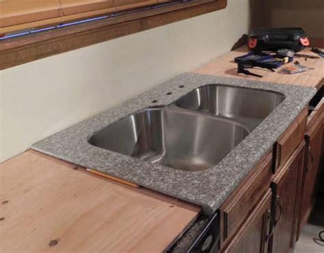 aprende  colocar granito pulido en tu cocina  este