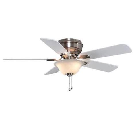hton bay hawkins 44 ceiling fan hton bay yg204 bn hawkins 44 in brushed nickel ceiling