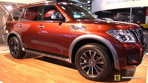 nissan armada 2016 interior 2017 nissan armada platinum exterior and interior