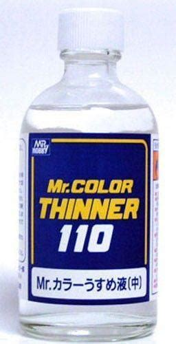 Mr Color Thinner 110 Ml Mr Colour Thiner 110ml Hobby Hoby Hobi Mr Color Thinner 110ml T102 Usa Gundam Store