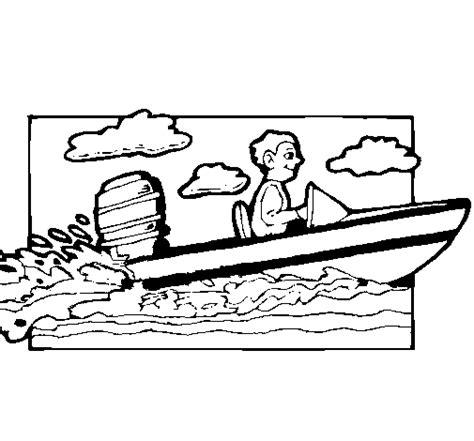 barco moderno dibujo dibujo de lancha acu 225 tica para colorear dibujos net