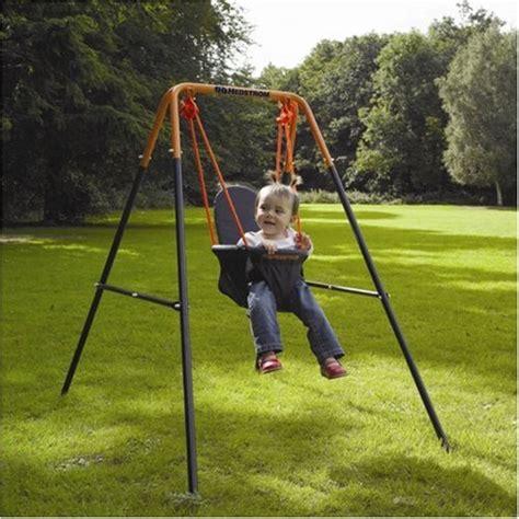 hedstrom toddler swing hedstrom folding toddler swing