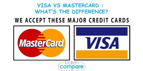 visa or mastercard which is better visa vs mastercard what s the difference