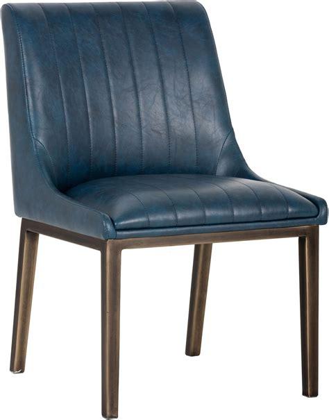 Antique Blue Dining Chairs Halden Vintage Blue Dining Chair Set Of 2 102022 Sunpan Modern Home