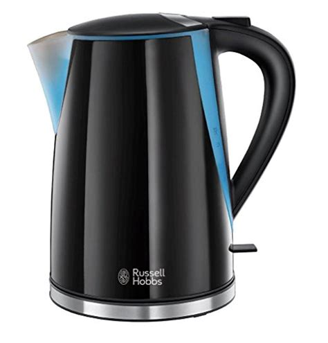 russell hobbs mode kettle  black  electric