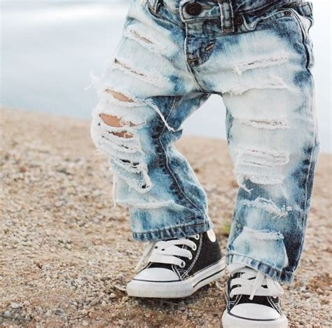 cute ripped shorts for boys straight up shredded custom made to order distressed denim