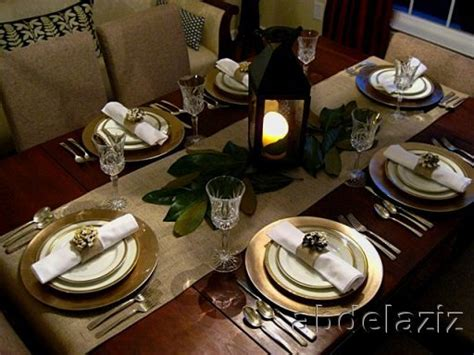Dining Room Table Settings Ideas Dining Table Set Up Table Setting Design