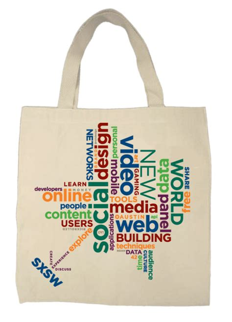 bag design sxsw interactive 09 tote bag design rohdesign