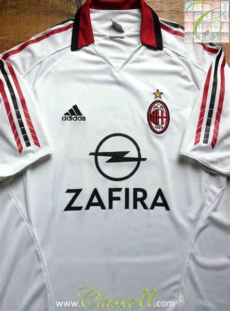 Retro Jersey Ac Milan Away 2007 ac milan visitante camiseta de f 250 tbol 2005 2006 a 241 adido