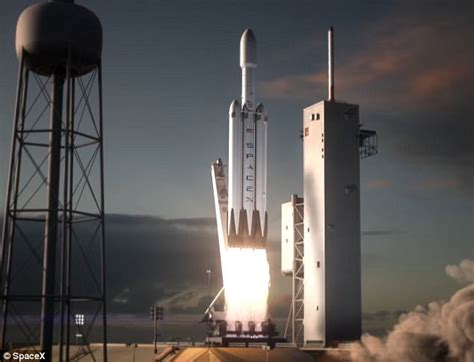 spacex set to launch world s most powerful rocket the elon musk says falcon heavy will launch this november