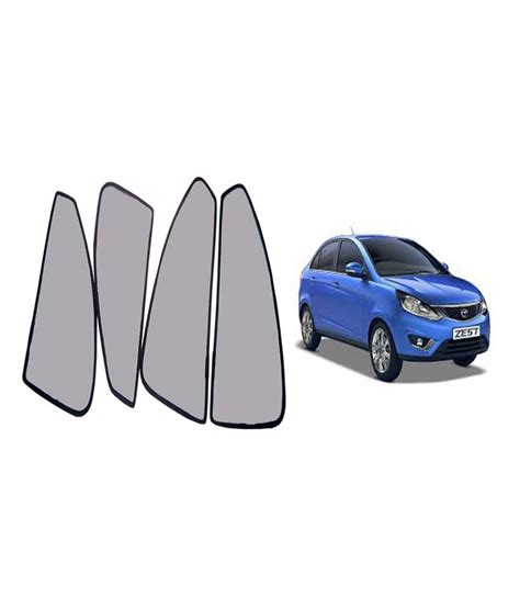magnetic curtains for car autokraftz car magnetic sunshade curtain for tata zest