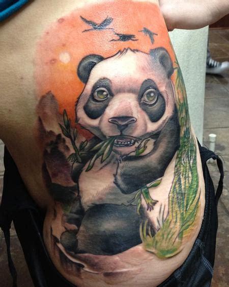 panda tattoo cover up off the map tattoo nakota garza tattoos page 1
