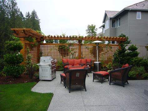 Backyard Patio Landscaping Ideas Pretty Awesome Patios Home