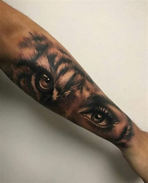 eye of the tiger tattoo tiger by artis garcia at certified customs in