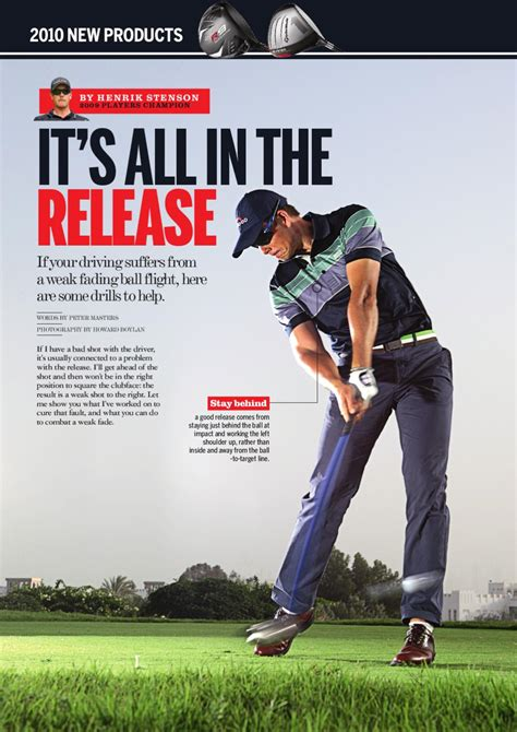 square to square driver swing tips special it s all in the release with henrik stenson