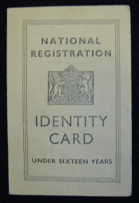 national registration identity card template cookit gallery