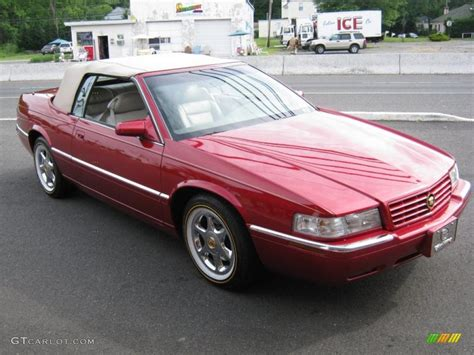 1999 Cadillac Coupe by 1999 Crimson Pearl Cadillac Eldorado Touring Coupe