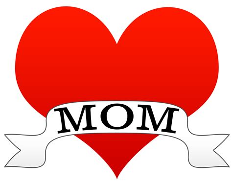i heart mom tattoo style clipart cookie jar