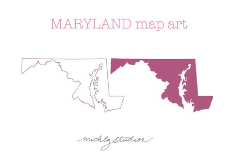maryland map counties vector maryland vector png map illustrations on creative