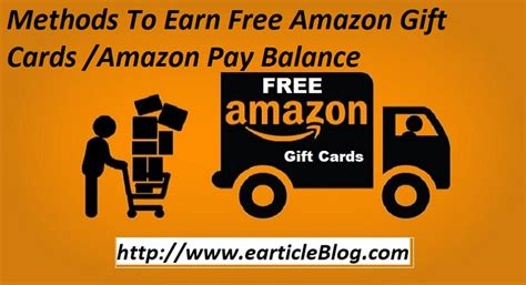 Free Amazon E Gift Card - 100 working top 5 ways to earn free amazon gift cards earticleblog
