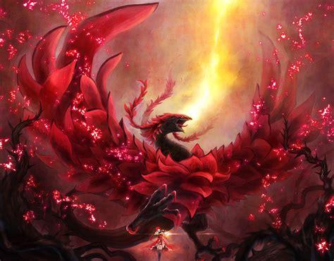 black rose dragon wallpaper 183