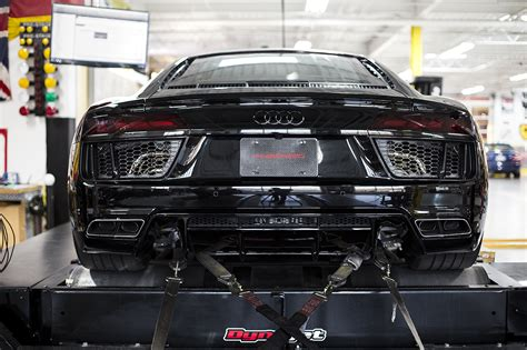 BoostAddict Fabspeed 2nd Gen Audi R8 (2017 ) exhaust and ECU tune performance package results