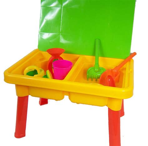 sand and water play table toys childrens garden toy