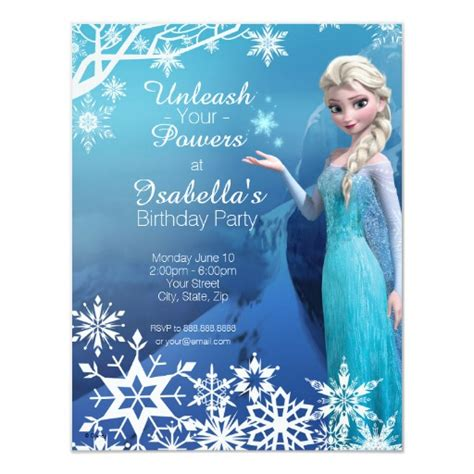 frozen personalized birthday invitation and 31 similar items