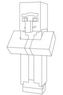 minecraft village coloring page minecraft villager coloring page free printable coloring