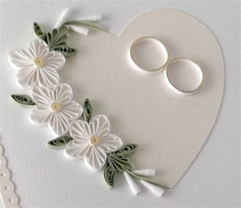 Paper Wedding Card by Paper Cards I M Back