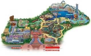 map of california adventure maps of disneyland resort in anaheim california