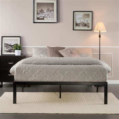 king platform bed frame rest rite rest rite king size metal platform bed frame