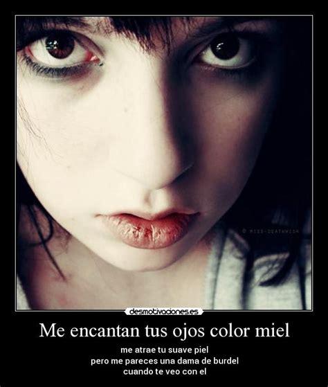 imagenes tus ojos me encantan me encantan tus ojos color miel desmotivaciones
