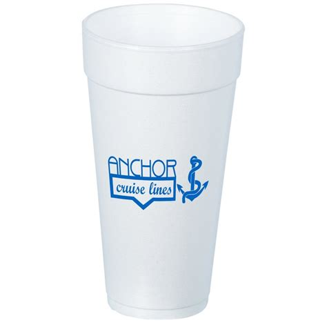 Lq 24 Ciyaa Top 4imprint foam cold cup 24 oz low qty 4942 24 lq imprinted with your logo