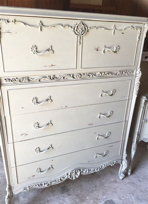 Beautiful Wood Antique Dresser And Nightstand Set With Carved Details Haute Juice Beautiful Wood Antique Dresser And Nightstand Set With Carved Details Haute Juice