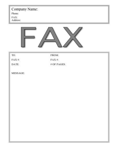 big fax fax cover sheet at freefaxcoversheets net