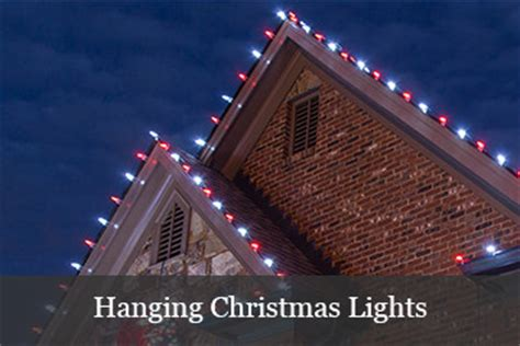 How To Hang Lights On House by Light Guide
