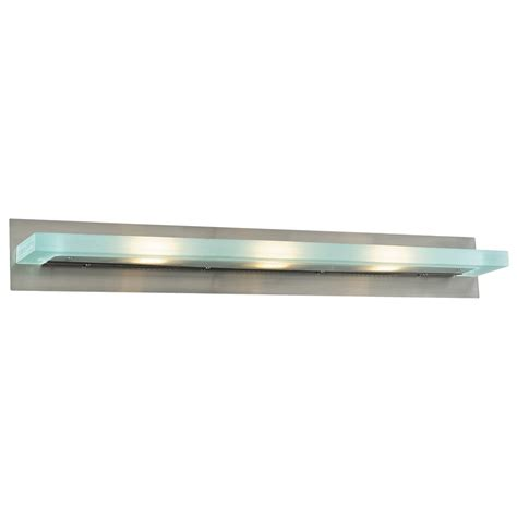 Discount Vanity Lighting by 1 Light Bath Bar In Brushed Nickel Tn 50128 Canada